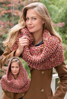 Free Knitting Pattern for Garter Stitch Cowl