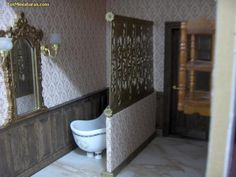 Forum dollhouses and miniatures :: View Separate environments: how to make a lattice. Easy and cheap! Spanish