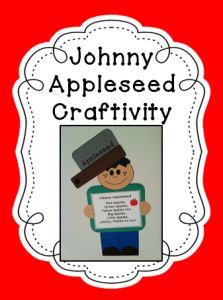 Johnny Appleseed Craftivity~ Poem and Writing Pages Hurry up! This giveaway promotion ends at 11:59:59PM CST on 09-30-2012