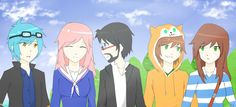 Minecraft story mode youtubers