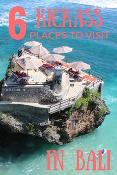 6 Kickass Places to Visit in Bali #bali #indonesia #guide