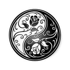 Yin Yang Roses, tattoo ides