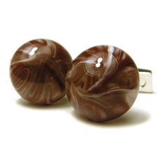 Check out the deal on Milk Chocolate Marble Cufflinks at Cufflinks Depot
