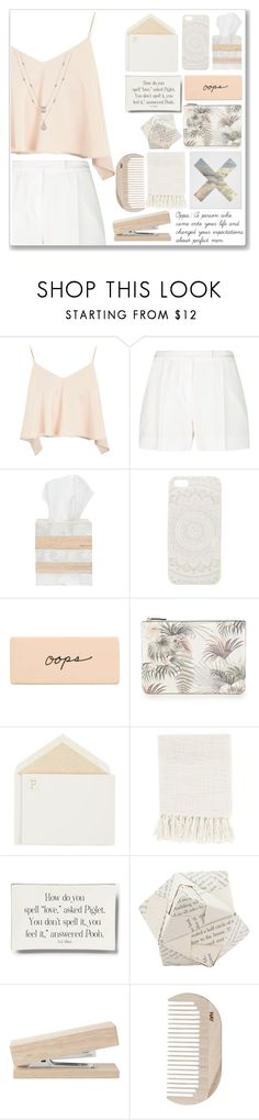"""""""In Too Deep"""" by amber-mistry ❤ liked on Polyvore featuring Topshop, Elie Saab, Pigeon & Poodle, With Love From CA, Warehouse, Connor, Surya, Ben's Garden, Dot & Bo and HAY"""