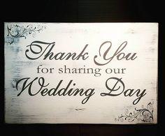 Wedding Signs Wedding Decor Wedding Day Receptions by SignChik