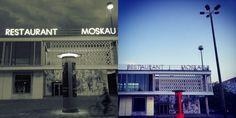 SPUTNIK - Das Café Moskau ist ein denkmalgeschütztes Gebäude in der Karl-Marx-Allee und war eines von sieben Nationalitätenrestaurants der DDR. Dort wollte man den Gästen einen Einblick in die kulinarischen und kulturellen Bräuche der jeweiligen Länder bieten. Heute dient das Café Moskau als Veranstalltungsort für Tagungen, Kongresse oder auch Partys.