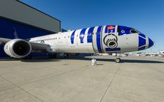 After Months of Anticipation, the 'Star Wars'-Themed Airplane Takes Its First…