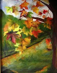 """Résultat de recherche d'images pour """"peindre feuilles automne"""""""