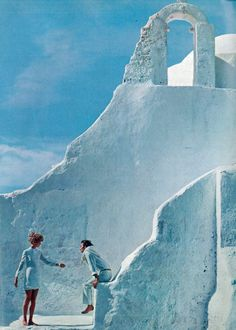 Jean Shrimpton and Jeanloup Sieff by Richard Avedon, 1967