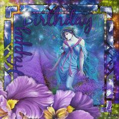 Happy Birthday! ...  Fairy Blingee by stina scott