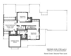 Looking for the best house plans? Check out the Stone Creek plan from Southern Living. Ranch House Plans, Cottage House Plans, Best House Plans, Dream House Plans, House Floor Plans, Dream Houses, Bonus Room Bedroom, Craftsman Farmhouse, Farmhouse Style