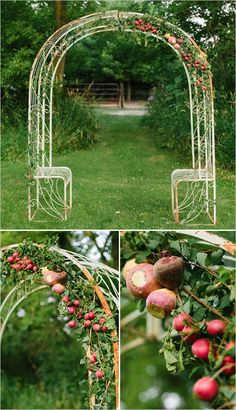 A vegetable wedding alter to keep the wedding fresh, local, and interesting. Perfect for a summer wedding.