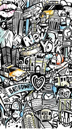 Amazing The Graffiti . Terrific The Graffiti Graffiti Wallpaper Iphone, Pop Art Wallpaper, Wallpaper Backgrounds, Iphone Wallpapers, Hello Wallpaper, Wallpaper Awesome, Wallpaper Desktop, Wallpaper Ideas, Graffiti Doodles