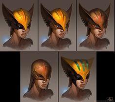 hawkgirl mask - Google Search