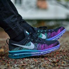 nike air max flyknit purple venom