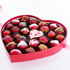 Červené jahodové srdce Raspberry, Strawberry, Thing 1, Chocolate, Fruit, Food, Essen, Strawberry Fruit, Chocolates