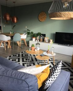 19 top living room paint ideas as the best decoration 9 Living Room Paint, Home Living Room, Apartment Living, Living Room Designs, Living Room Decor, Living Room Inspiration, Home Decor Inspiration, Room Interior Design, Room Colors