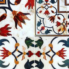 by The designed by giants and finished by Incredible India, Persian, Taj Mahal, Rooster, Marble, It Is Finished, Flowers, Animals, Art