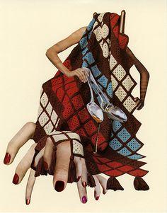Collage rétro par Jessica Wohl