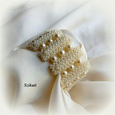 VENDITA DI 20% Istruzione bianco perla/Seed Bead Bracciale