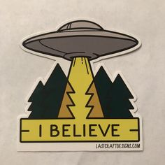 This 3 die cut sticker is a great way to show off your love for the extraterrestrial. Great for laptops or paper products. These stickers are vinyl and UV coated. Stickers Cool, Tumblr Stickers, Laptop Stickers, Aliens And Ufos, Ancient Aliens, Alien Art, Aesthetic Stickers, Pin And Patches, Sticker Design