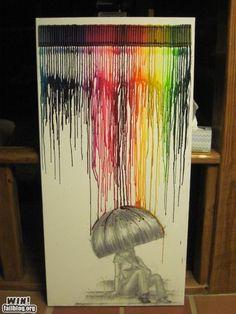 Crayon Art- i want it!