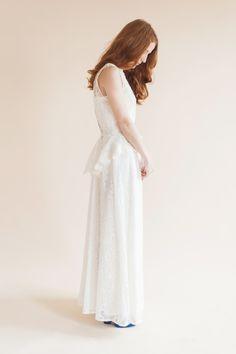 Francess peplum waistcoat wilderness bride available on Etsy.com