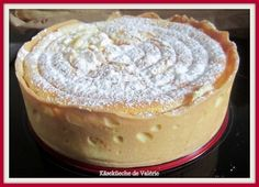 Käseküeche ou gâteau au fromage Alsacien de Valérie (Recette au Companion ou pas) - Sweet Recipes, Cake Recipes, Delicious Desserts, Yummy Food, Dacquoise, Cheesecake, Cooking Chef, Sweet And Salty, Flan