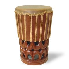 Many times it is the Hawaiian Pahu Drum that is the first sound you hear announcing a hula. Whether that is in a competition, a wedding, or gathering. The drums are painstakingly carved by our master