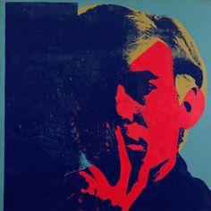 Andy Warhol / Self portrait