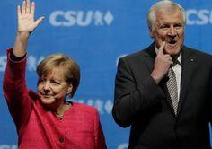 German Chancellor Angela Merkel Under Pressure In Immigration Row A Pin For Quote Argument Pinterest Angela Merkel