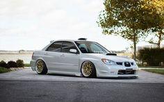 Slammed Subaru