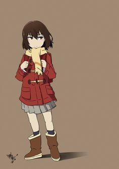 Kayo Hinazuki by manzr From anime: Boku Dake ga Inai Machi - No.1 anime dis season I guess - Feels like a lolicon~ hmmm2