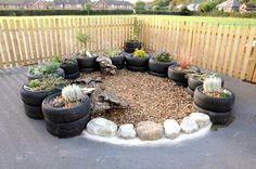 Hard surface garden