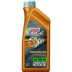 Castrol 12064 EDGE SUPERCAR 10W-60 Full Synthetic Motor Oil, 1 L - Castrol has been the exclusive partner of BMW. Castrol has been the only recommended oil for all BMW 2000 - 2014.