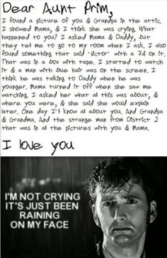 :'( I cry too much!