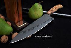 Custon handmade Peremský knife Kitchen Knives, Hobbies, Handmade, Knives, Hand Made, Handarbeit