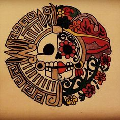 Résultats de recherche d'images pour « miquiztli » Mexico Tattoo, Aztec Art, Chicano Art, Creative Tattoos, Mexican Art, Skull And Bones, Halloween Make Up, Black Tattoos, Art Reference