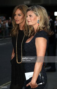 Trinny Woodall And Susannah Constantine Arrive For The Gq Men Of The Year Awards 2008 Royal Opera...
