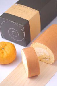 Yuzu flavor roll cake