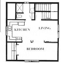 Studio Apartment Over Garage Plans