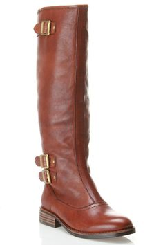 Vince Camuto Fabi Western Style Boot In Chestnut - Beyond the Rack