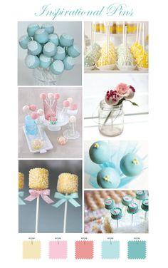 cake pops...including fruitcake pops!