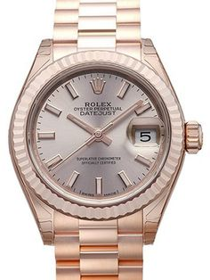 Rolex Lady-Datejust 28 18 kt Everose-Gold 279175 Pink