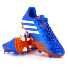 check out 16a3c 86764 Adidas - Predator LZ TRX FG Priblu   Orange