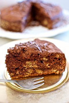 Tarta de chocolate al marsala, receta italiana con Thermomix