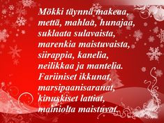 TULOSTETTAVA RUNOPOHJA joulukorttiin Christmas Quotes, Christmas Crafts, Xmas, Holidays And Events, Diy Cards, Life Quotes, Neon Signs, Joy, Words