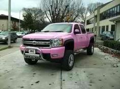 Pink Chevy, yes please =]