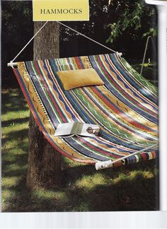 How to Make a Hammock Pg 1 of 4