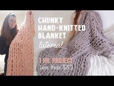 Easiest Method to Knit a Chunky Blanket at Home - Easiest Method to Knit a Chun. - Easiest Method to Knit a Chunky Blanket at Home – Easiest Method to Knit a Chunky Blanket at Home Chunky Yarn Blanket, Chenille Blanket, Hand Knit Blanket, Crochet Blanket Patterns, Finger Knitting Blankets, Arm Knitting, Knitted Blankets, Baby Blankets, Chunky Crochet